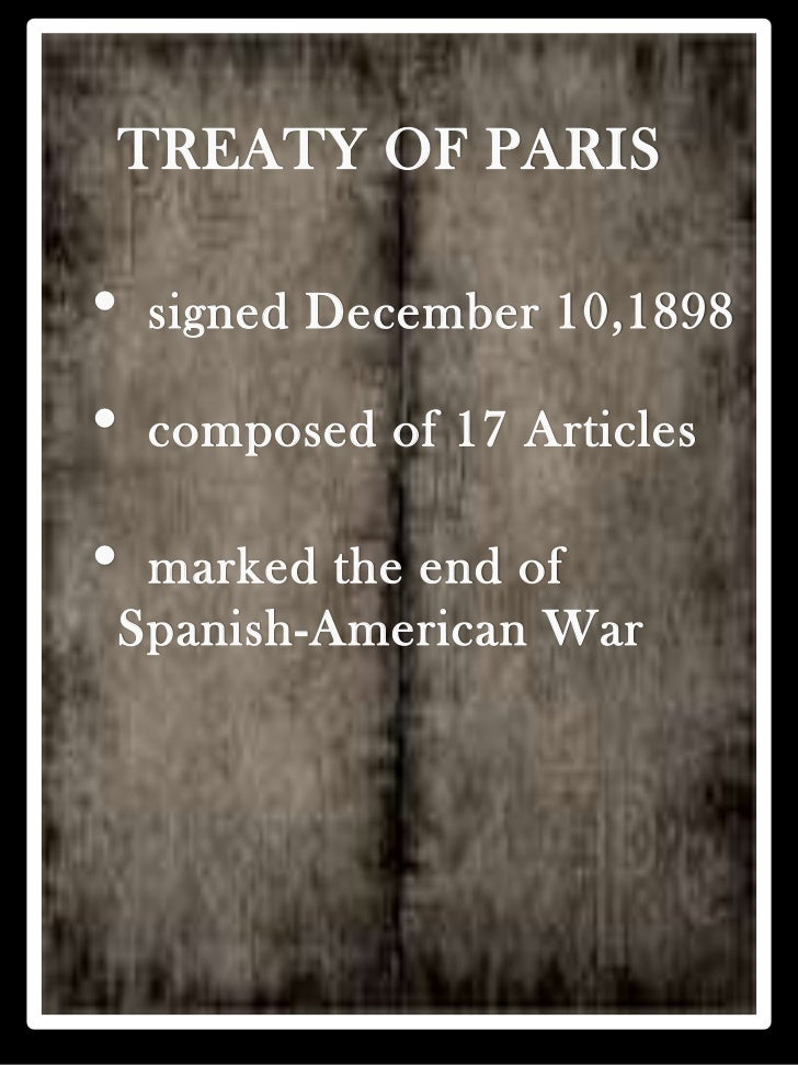 treaty of paris The definitive treaty of peace and friendship between his britannick majesty, the most christian king, and the king of spain concluded at paris the 10th day of february, 1763.