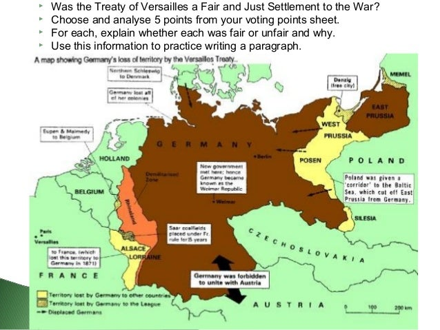 whether the treaty of versailles was Offers students an opportunity to explore the historic controversy surrounding the extent to which the treaty of versailles caused world war ii extension: participate in a class debate on whether or not the treaty of versailles was too harsh on germany or whether the treaty failed to go far enough to protect peace in europe.