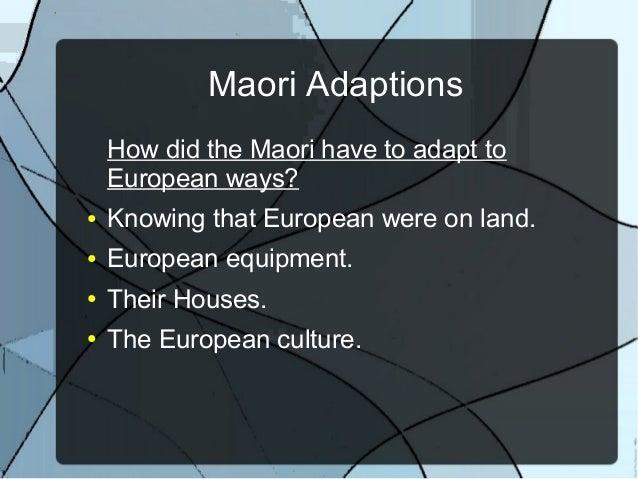 impact of europeans to maori Merata kawharu examines cook's impact on maori culture  the newcomers  arrive early european voyagers tupaia and cook meet.