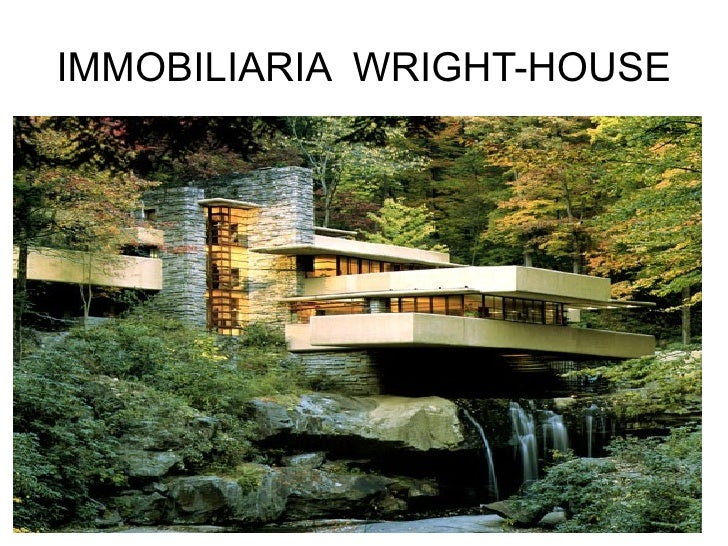 IMMOBILIARIA  WRIGHT-HOUSE