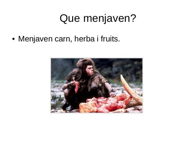 Alimentació a la prehistòria Slide 3