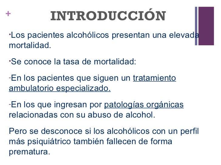 Las causas el daño del alcoholismo