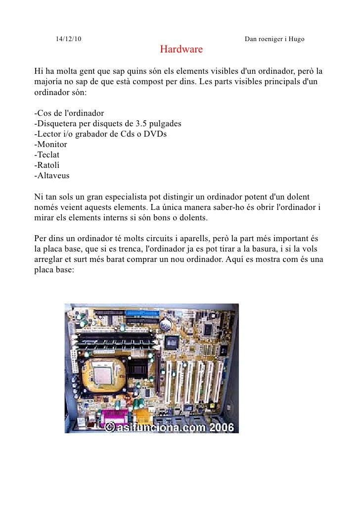 14/12/10                                                Dan roeniger i Hugo                                     HardwareHi...