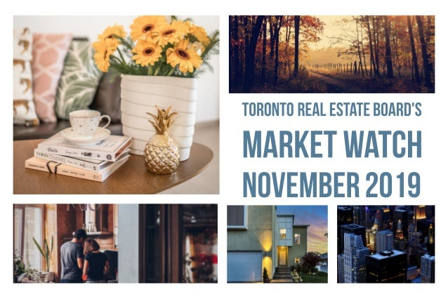 GTA REALTORS® Release November 2019 Stats Toronto Real Estate Board President Michael Collins announced that Greater Toron...