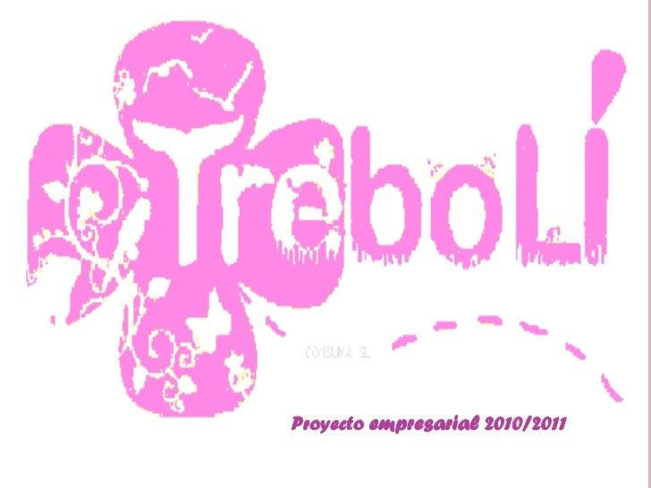 Proyecto empresarial 2010/2011
