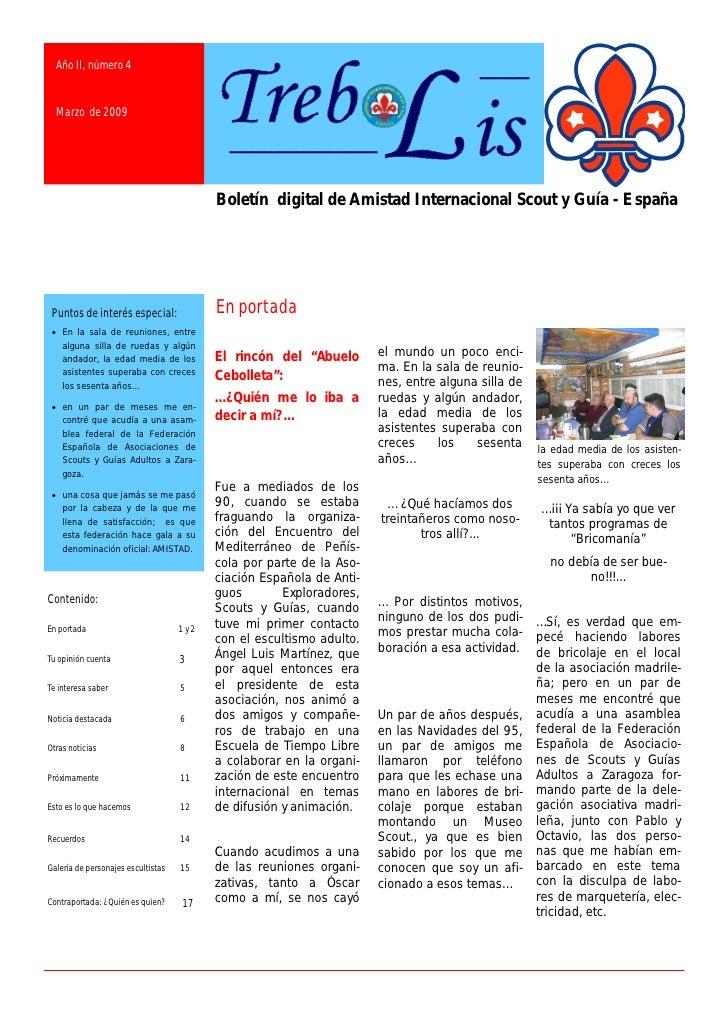 Año II, número 4     Marzo de 2009                                               Boletín digital de Amistad Internacional ...