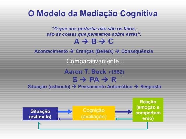 As crenças irracionais Pensamentos Racionais Pensamentos Irracionais Comportamentos funcionais, adequados e adaptativos Co...