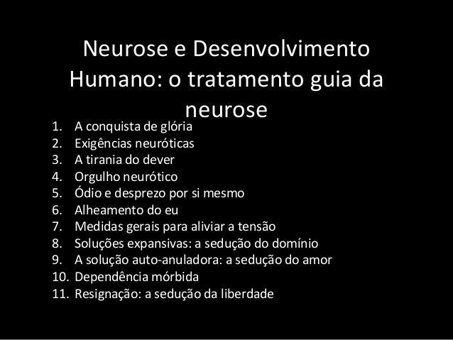 Neurose e Desenvolvimento Humano: o tratamento guia da neurose 1. A conquista de glória 2. Exigências neuróticas 3. A tira...