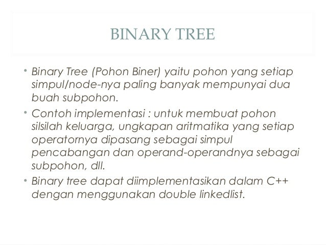 Pohon biner
