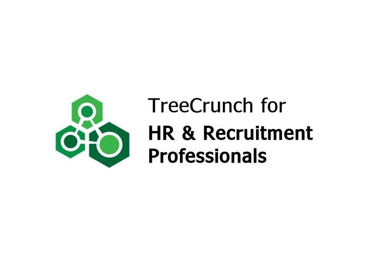TreeCrunch for HR & Recruitment Professionals