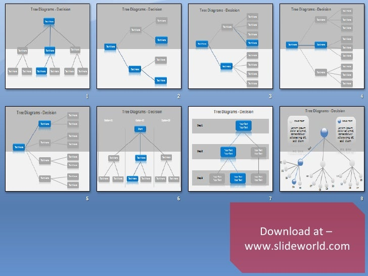 decision tree ppt templates