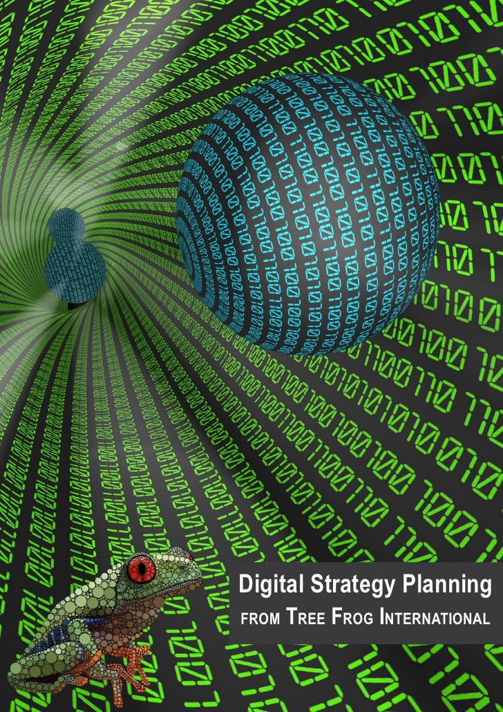 Digital Strategy Planningfrom   Tree Frog International