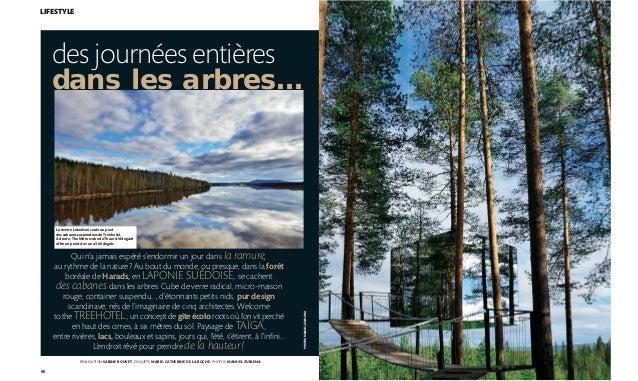 96 PHOTOSMANUELZUBLENA LIFESTYLE des journées entières dans les arbres… Qui n'a jamais espéré s'endormir un jour dans la r...