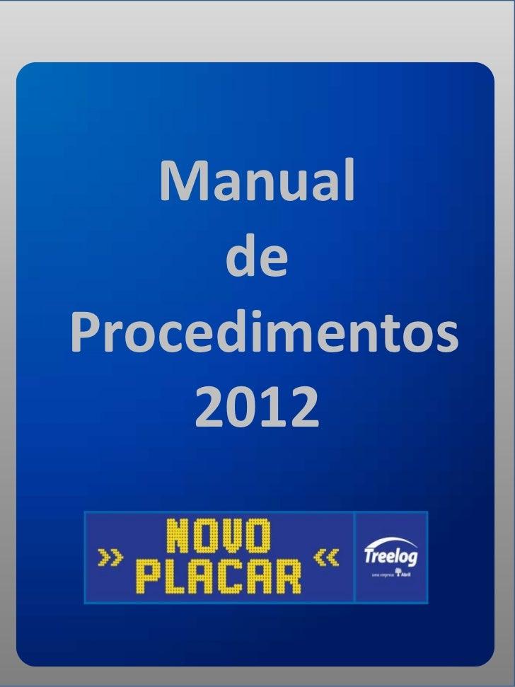 Manual     deProcedimentos    2012