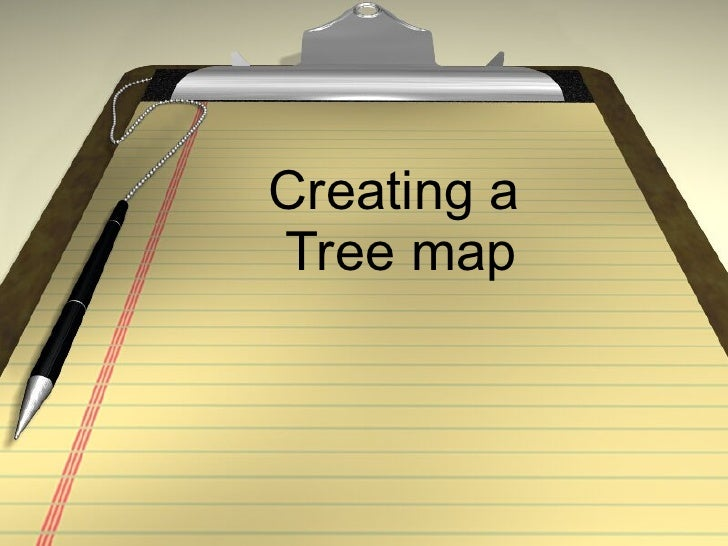 Creating a  Tree map