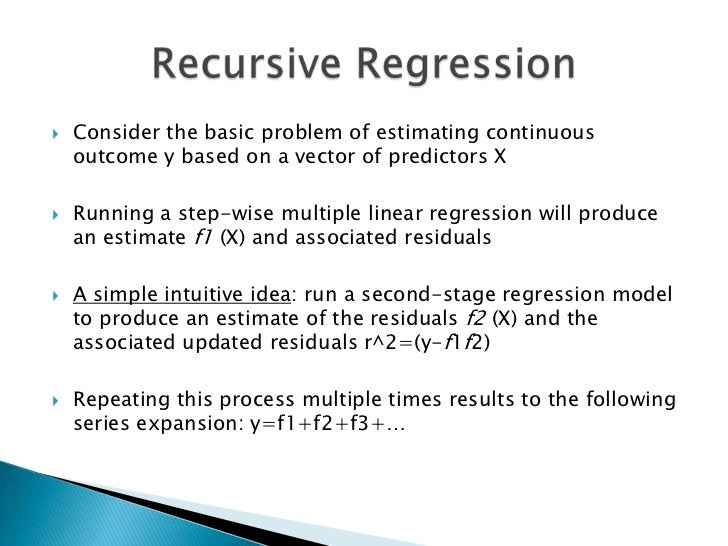 how to run multiple regression with not continous array