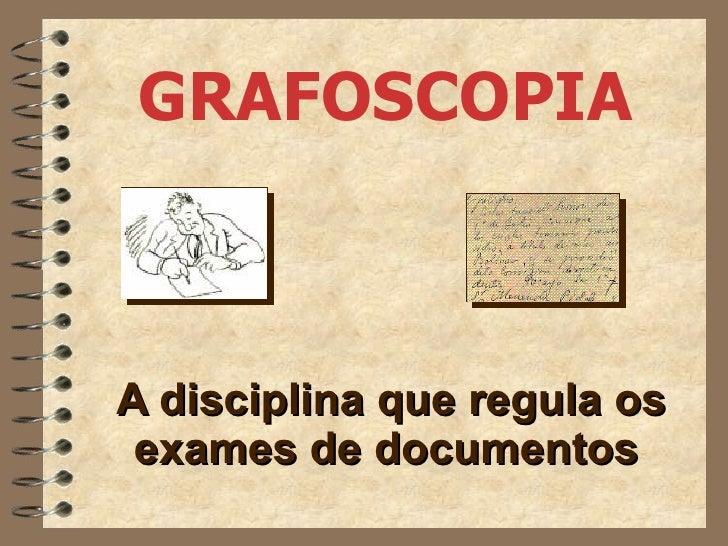 Treinamento   grafoscopia