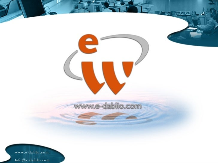 www.e-dablio.com [email_address]