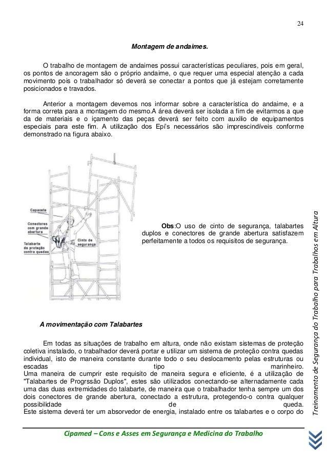 25ae70d618 Talabarte Y sem absorvedor Talabarte Mosquetão Trava quedas  24.