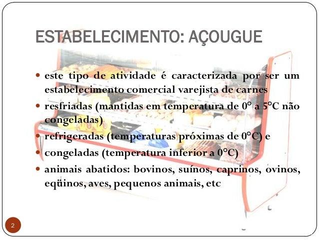 Curso de manipulador de alimentos: açougue Slide 2