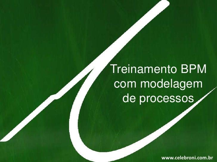Treinamento BPM com modelagem<br />de processos<br />