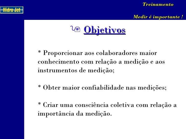 Treinamento Medição Slide 2