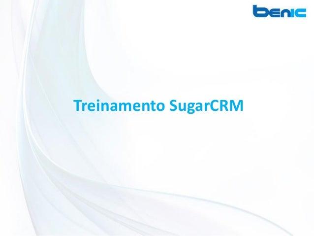 Treinamento SugarCRM