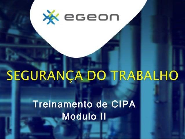 Treinamento de CIPA Modulo II