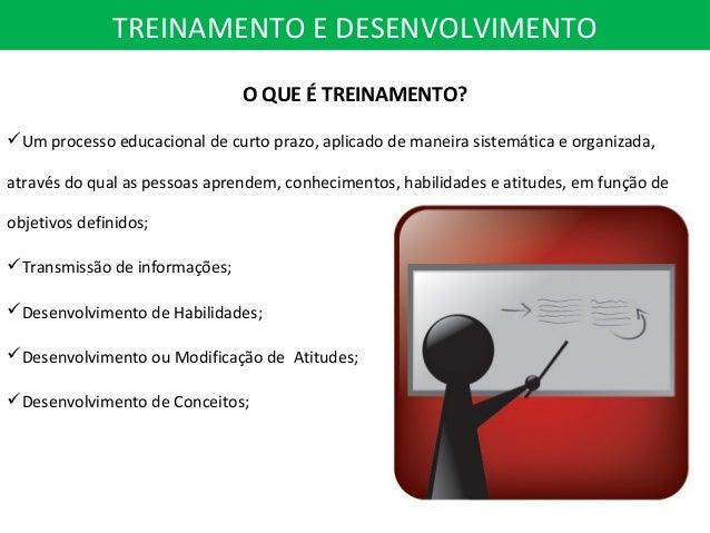 Treinamento e desenvolvimento Slide 3