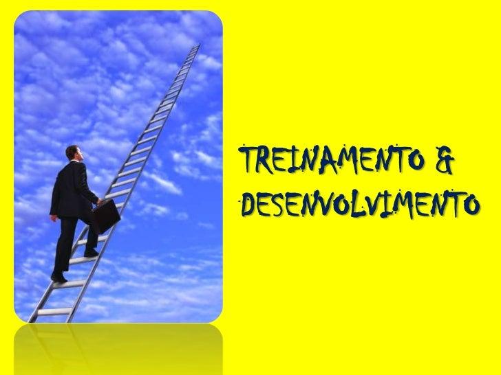 Treinamento & Desenvolvimento de Equipes: Modelos, Feramentas e estratégias Slide 3