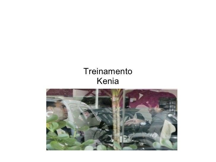 Treinamento   Kenia