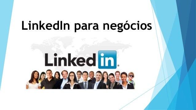 LinkedIn para negócios