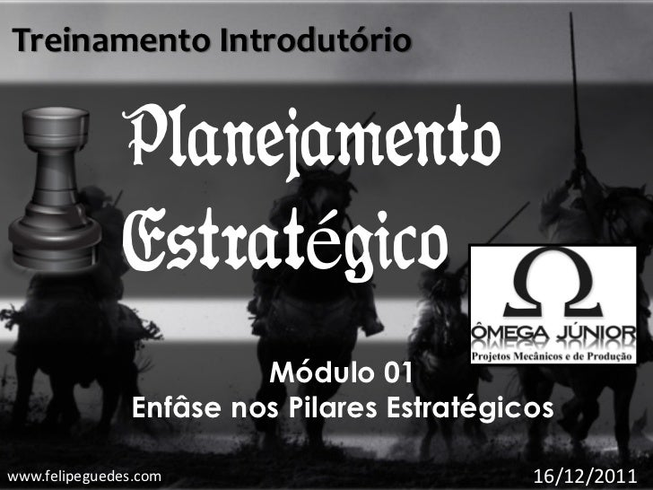 Treinamento Introdutório              Planejamento              Estratégico                        Módulo 01              ...