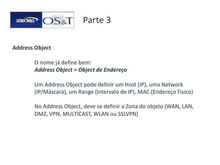 Sonicwall vpn no ip address