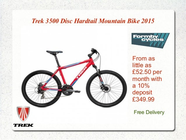 Trek Mountain Bikes 2015 Collection Formby Cycles
