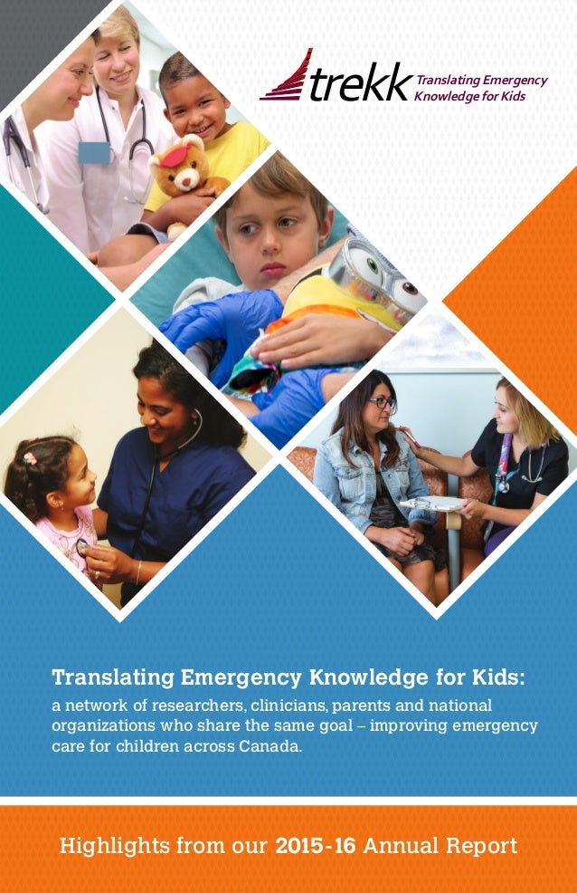 Translating Emergency Knowledge for Kids: a network of researchers, clinicians, parents and national organizations who sha...