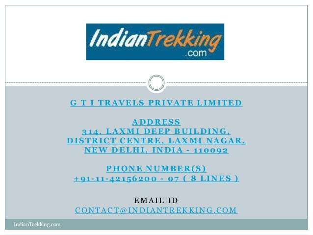 G T I TRAVELS PRIVATE LIMITED                                ADDRESS                       314, LAXMI DEEP BUILDING,      ...