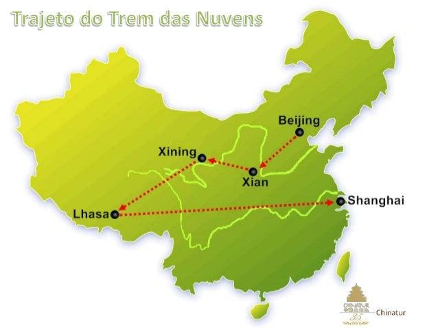 Trajeto de Beijing a Xining  2