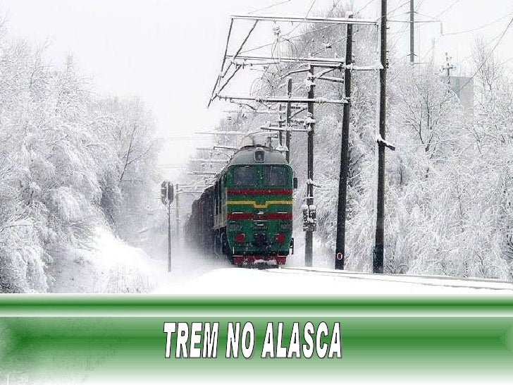 TREM NO ALASCA