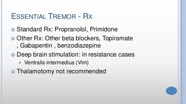 Primidone For Benign Essential Tremor