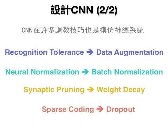 Recognition Tolerance è Data Augmentation Neural Normalization è Batch Normalization Synaptic Pruning è Weight Decay Spars...