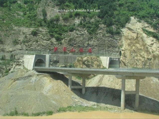Túneles en la Montaña Kun Lun