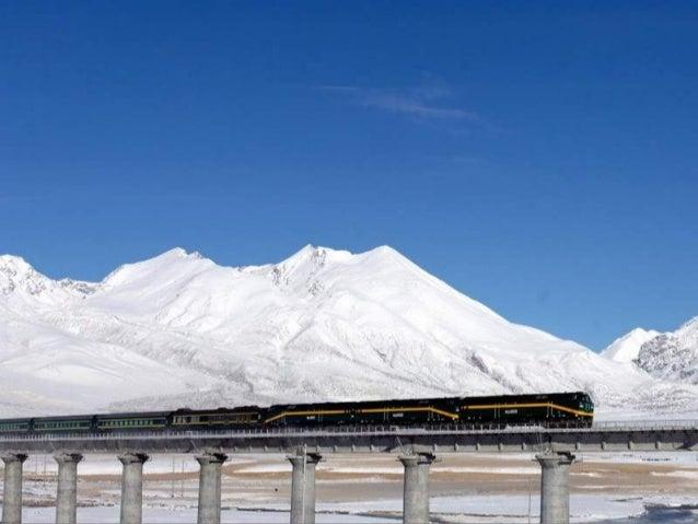 El tren sube a una altitud por encima de los 5000 metros – más de 16,000 pies