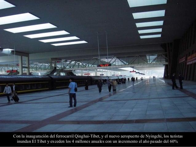 Lobby de la estación ferroviaria de Lhasa