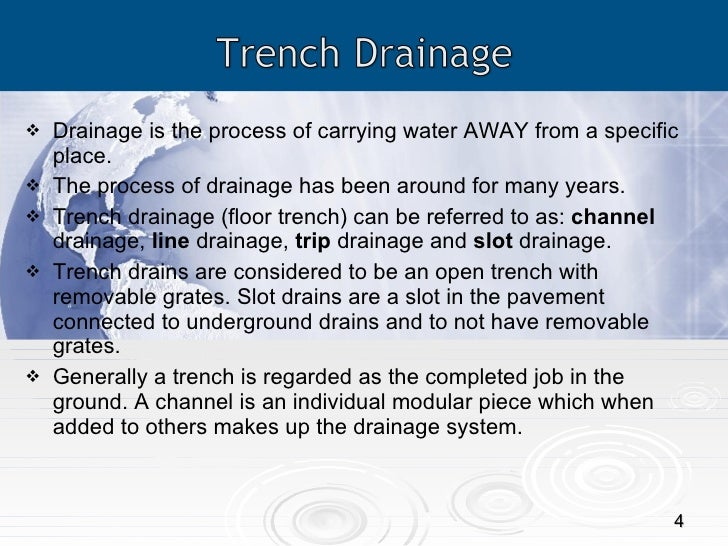 Trench Drain Systems Types Benefits Applications And