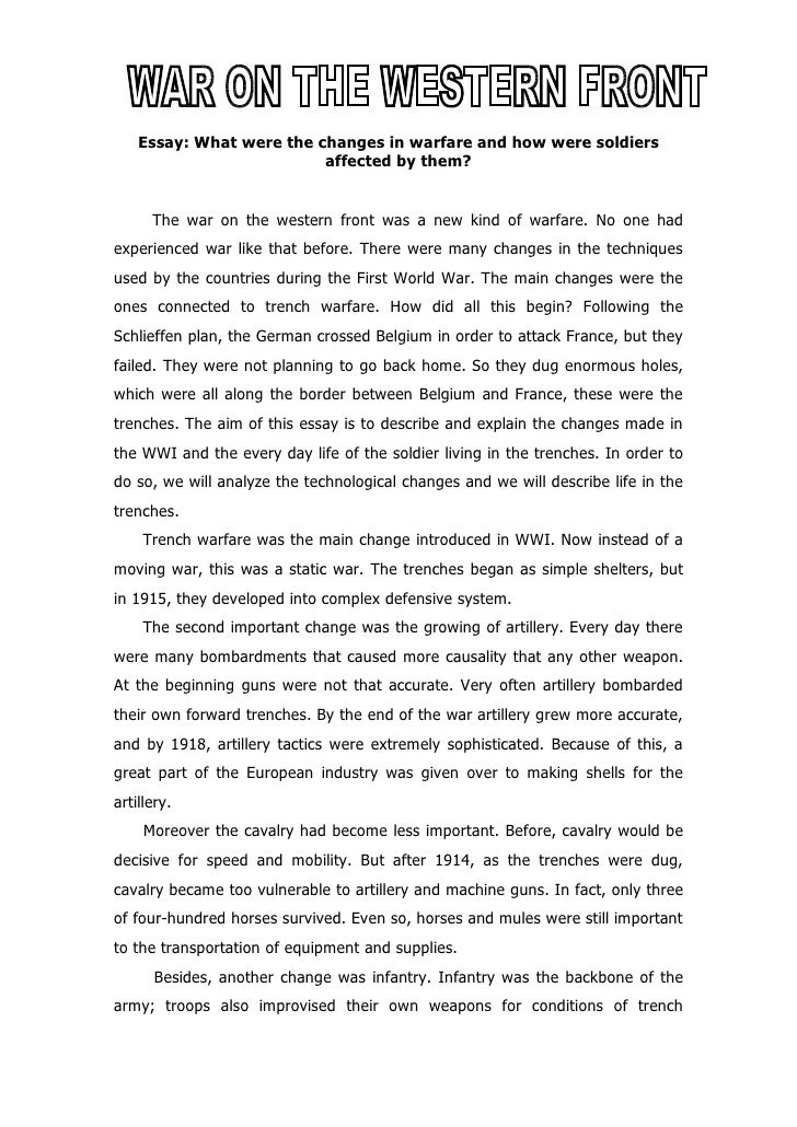 world war ii essay conclusion This essay america after world war 2 and other 63,000+ term papers, college essay examples and free essays are available now on reviewessayscom men had to aid in the military for world war ii and during that time war equipment and supplies were growing in demand.