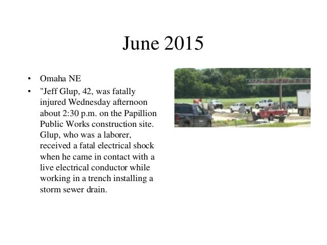 Storm Drain Conductor : Trenching the year in review csc conference