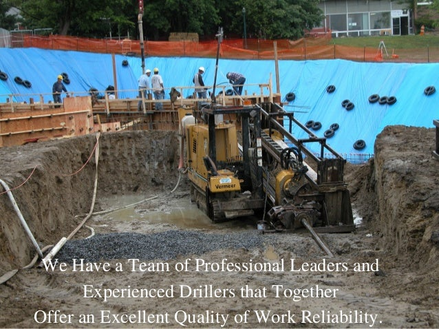 Trenchless horizontal and directional drilling in texas