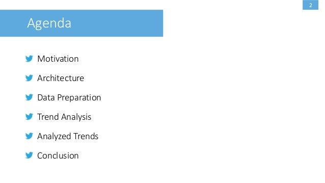 Trend detection and analysis on Twitter Slide 2
