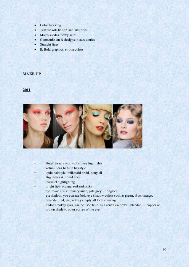 31 2012  Dewy skin with a gentle blush, pretty pale pink lips and lashings of mascara were the major ingredients of the s...